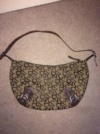 DKNY handbag original brown/tan