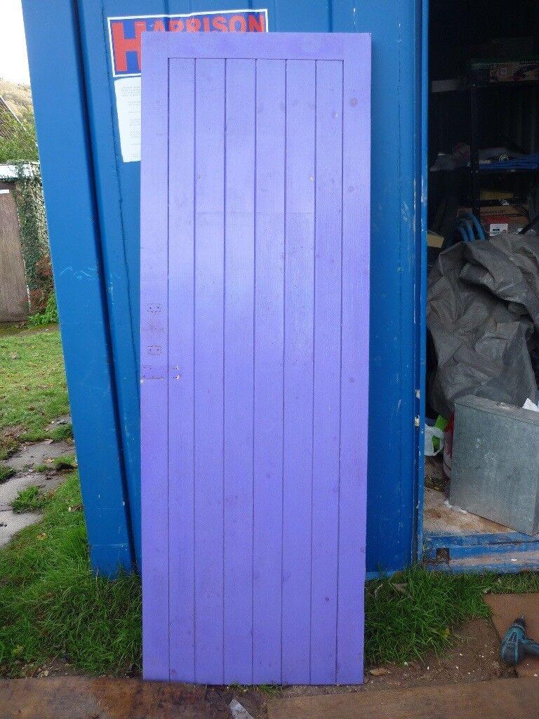 """Wooden Exterior Door (c27"""")"""