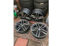 5x112 Rs6 20 inch alloys