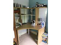 Corner desk from ikea