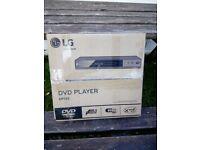 DVD PLAYER (LG) BRAND NEW IN BOX