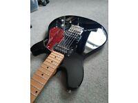 Musicman Sterling Valentine guitar - upgraded Suhr, Fishman piezo