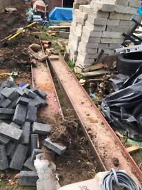 Construction beam beams