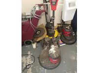 Victor 17'' Floor buffer / polishers - £20 each - 4 available 240V - Clearance