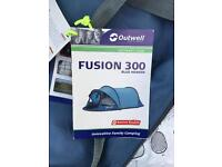Outwell Fusion pop-up tent RRP £175