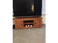 oak cornered tv stand from next.