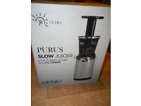 BRAND NEW JR Ultra Purus Masticating Slow Juicer, Worlds Purest 30 RPM