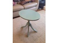 Side/coffee table - shabby chic/painted
