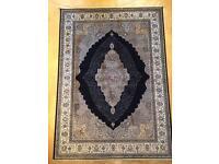 Persian silk rug