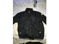 Men's moncler bomber jacket never been worn and was bought only a couple of months ago