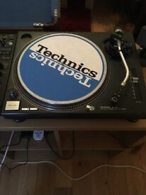 Technics 1210 mk2 + shure m447
