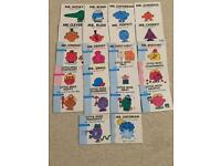 23 Mr Men And Little Miss Books