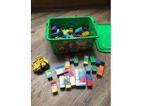 Large Box Of Duplo Lego