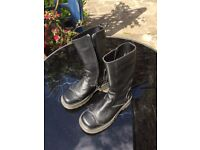 Doc Marten bike boots, size 6, hardly used, perfect condition, suit any gender I think
