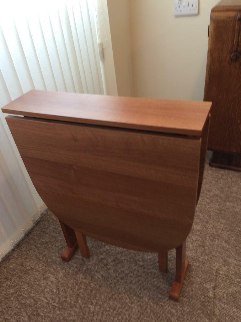 SOLID WOOD FOLD AWAY TABLE In Hull East Yorkshire Gumtree