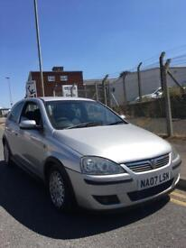 2007/07 VAUXHALL CORSA 1.2 SXI 3 DOOR NEW ENGINE FITTED PX TO CLEAR