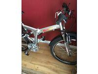 Urbanite folding bike