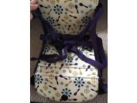 Travel booster / high chair