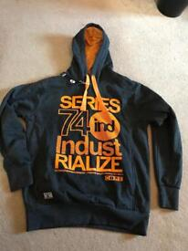 Brand new Industrialize Jackman Tech Hoodie Charcoal Size Large