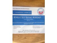 Self Defence Class for Women (ages 16+) 7-9pm Wednesday 18th January at St Mary's Church, Ponteland.