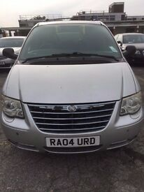 CHRYSLER GRAND VOYAGER DIESEL AUTOMATIC £1650