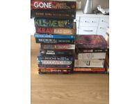 25 various hardback / paperbacks