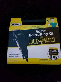 Home hair cutting kit including handy carry case