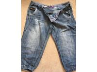Crop jeans size 16 new