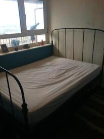 Iron Bed Frame - need gone ASAP!