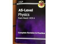 AS Physics revision book (CGP)