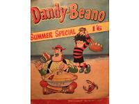 Old dandy and beano special summer comic