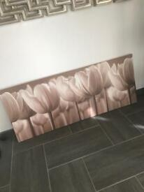 Large tulip canvas