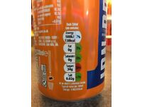 Barr's irn bru THE ORIGINAL RECIPE . A case of 24 cans . To all you irn bru fans .. snap these up !!