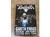 The Punisher Welcome Back Frank by Garth Ennis Marvel Graphic Novel