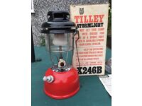 Tilly StormLight Lamp X246B NEVER USED