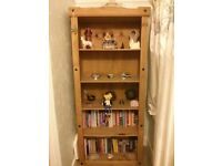 Tall solid bookcase