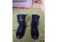 Grafters Black Combat Boot M671Az Size 6