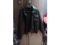 Leather Jacket (bike style)