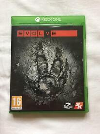Evolve XBOX ONE GAME