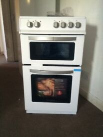 Brand new freestanding cooker