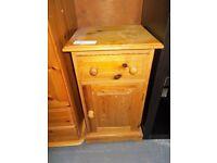 Pine Bedside Cabinet 30122 B