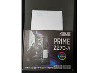 Asus Prime z270-A Motherboard never used