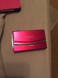 Fujifilm Pink Camera