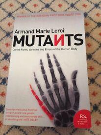 Mutants. Armand Marie Leroi