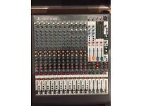 Behringer Xenyx XL1600 Mixer and Flight Case