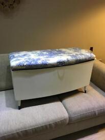 "Ottoman/Blanket Box ""REDUCED"""