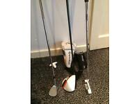 Taylormade driver wedge & putter