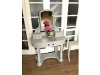 Victorian dressing/console table free Delivery Ldn🇬🇧Grey Paris