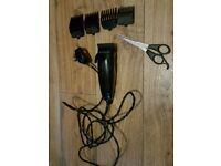 Hair clippers set
