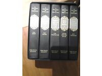 History of england folio society volume 1 to 5